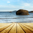 Platform beside sea — Stock Photo #49923209