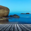 Platform beside sea — Stock Photo #49925569