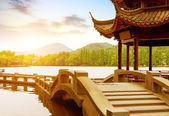 China Hangzhou West Lake Landscape — Stok fotoğraf