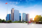Urban Landscape in Hangzhou, China — Stock Photo
