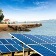 Seaside solar panels — Stock Photo #50911565