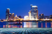 China Xiamen night scene — Stock Photo