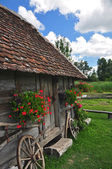 Traditional village house — Stock Photo