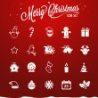 Christmas icons — Stock Vector #34277357