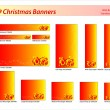 Royalty-Free Stock Immagine Vettoriale: Christmas banners