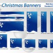Christmas web banners — Stock Vector