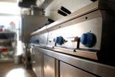 Dettaglio cucina ristorante — Foto Stock