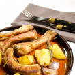 Pork ribs - Foto Stock