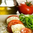 Постер, плакат: Caprese salad traditional italian appetizer