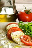 Caprese salad, traditional italian appetizer — Stock Photo