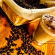 Royalty-Free Stock Photo: Cappuccino with coffee beans