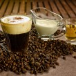 Irish coffee — Stockfoto