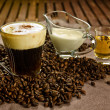 Irish coffee - Stock Photo