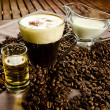 Irish coffee — Stock Photo