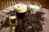 Irish coffee — Stock Photo