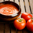 Tomato soup - Stock Photo