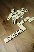 Domino bitar — Stockfoto