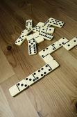 Domino stukken — Stockfoto