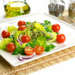 Foto Stock: Healthy food to lose weight: fresh salad