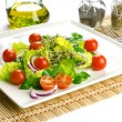 Stock Photo: Healthy food to lose weight: fresh salad