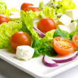 Healthy food to lose weight: fresh salad - Stock Photo
