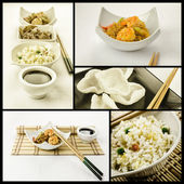 Chinese food composition — Stock Photo