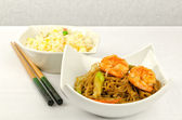 Chinese food, some plate — Stock Photo