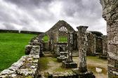 Alte kirche in der bretagne — Stockfoto
