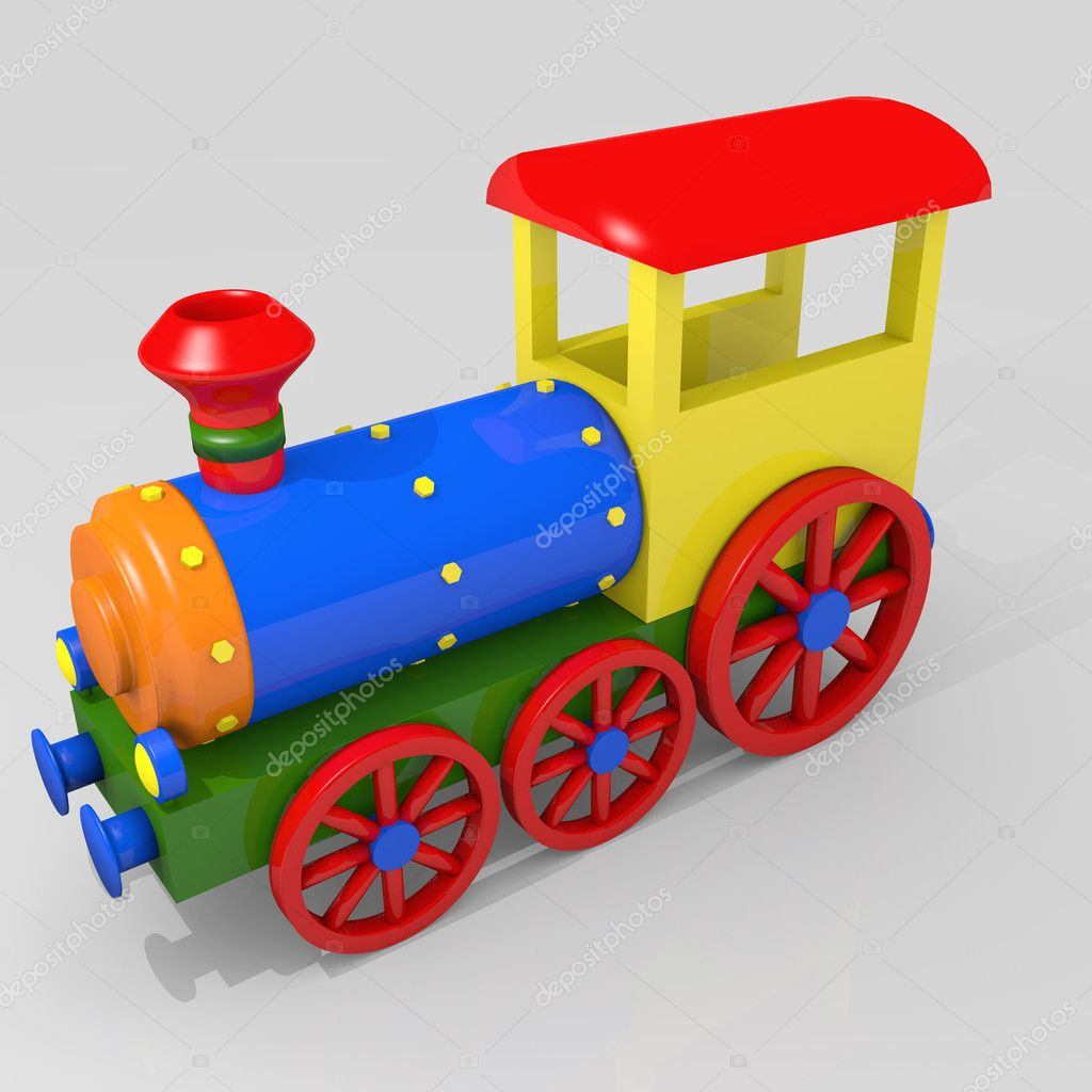 Toy Train Toy train - stock image