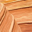 Royalty-Free Stock Photo: The Wave, Sandstone Curve, Arizona