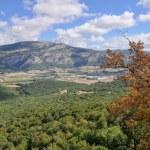 Постер, плакат: View from Beriain San Donato range Navarre