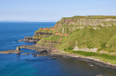 Cliffs near Giant's Causeway, County Antrim, Northern Ireland — Stock Photo