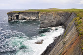 Loop head cliffs, Ireland — Stock Photo