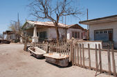 Saltpetre works of Humberstone, deserted town in Chile — ストック写真