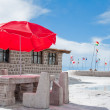 Stock Photo: Salt hotel, Uyuni salt flat (Bolivia)