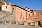 Square in Albarracin, Teruel (Spain) — Stock Photo