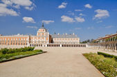 The Royal Palace of Aranjuez. Madrid (Spain) — 图库照片