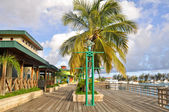 Boardwalk at Ponce (Puerto Rico) — Stock Photo