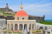 Santa Maria Magdalena cemetery, old San Juan, Puerto Rico — Stock Photo