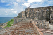 Fort San Felipe del Morro, Puerto Rico (USA) — Stock Photo
