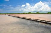 Cabo Rojo salt flats, Puerto Rico — Stock Photo