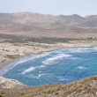 Genoveses bay, Cabo de Gata National Park, Almeria, Spain — Stock Photo