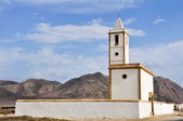 Church of Salinas of Gata cape (Almeria) — Stock Photo