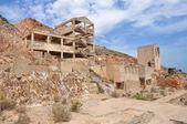 Rodalquilar gold mine ruins, Cabo de Gata Natural Park, Spain — Stock Photo
