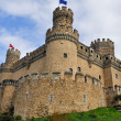 Castle of Manzanares el Real, Madrid, Spain — Stock Photo