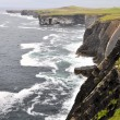 Stock Photo: Loop head cliffs, Ireland