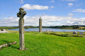 Devenish Island Monastic Site, Co.Fermanagh, Northern Ireland — Stock Photo