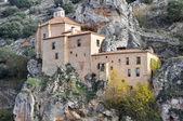 Hermitage of San Saturio, Soria (Spain) — Stock Photo