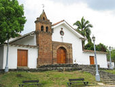 San Antonio church, Cali (Colombia) — Stock Photo