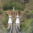 Western Bridge, Santa Fe de Antioquia (Colombia) - Stock Photo